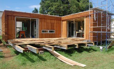 cargo house under construction