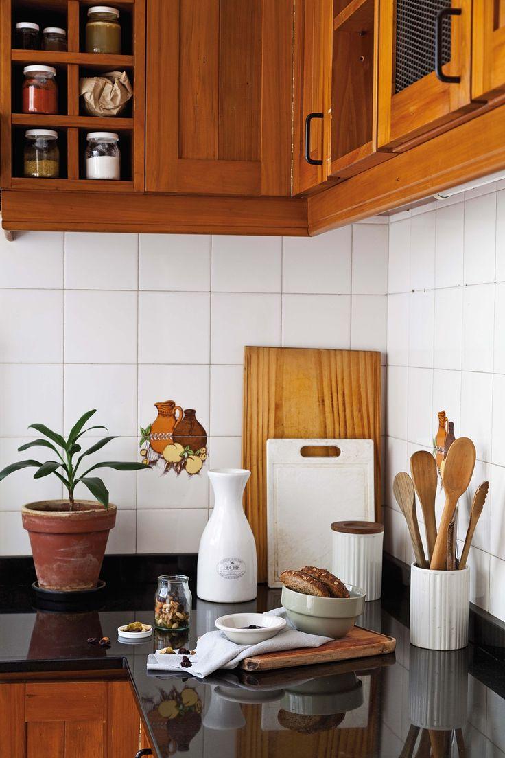 17 mejores ideas sobre cocinas retro en pinterest cocina - Interiorismo pisos pequenos ...