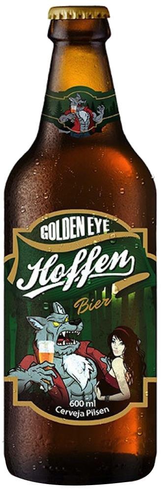 Premium Brands - Cervejas Especiais Hoffen Golden Eye 600ml - BRASIL