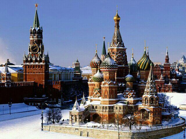 Кремль / The Kremlin à Москва