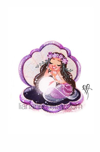 Adored Amethyst fine art mini print