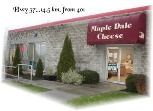 Maple Dale Cheddar, north of Belleville, Ontario