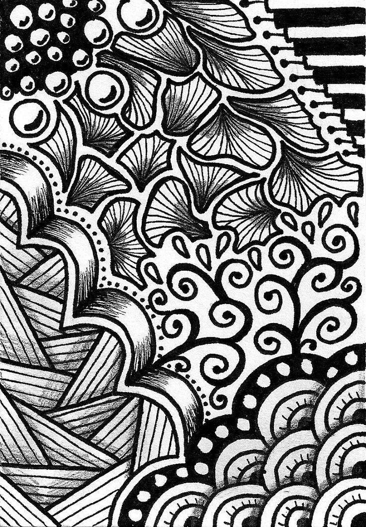 doodle letters | It really helps to give depth and form to your doodles if you shade ...