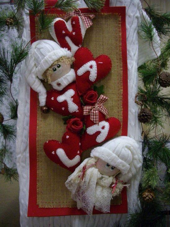 Pannello di Natale - fuoriporta