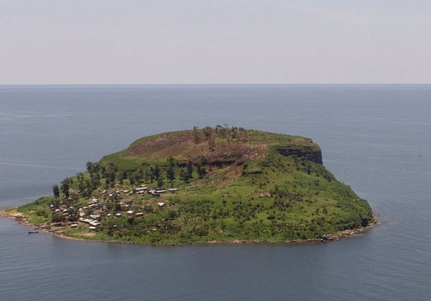 A small island on Lake Victoria, Kenya