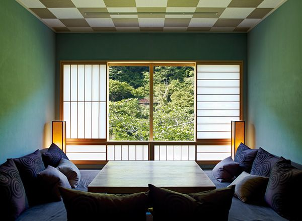Perfect This Hybrid Ryokan Hotel, A Series Of Low Buildings Inspired By Traditional  Japanese Houses, Clings To The Banks Above The Hozugawa River In The  Arashiyama ... Amazing Ideas