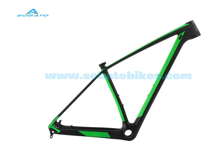 """20"""" 29er Carbon Mountain Bike Frame Headsets Clamp 142mm Thru Axle BSA UD Matte  Cheap price 2 years warranty"""