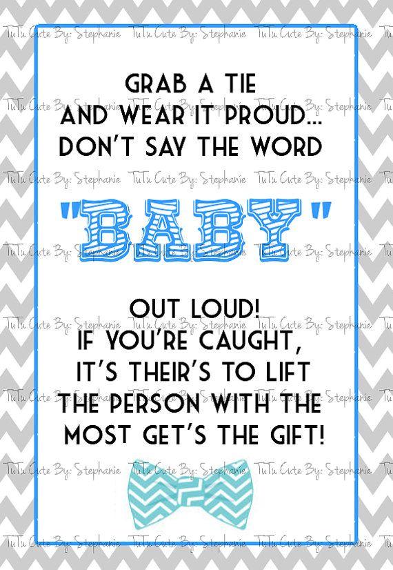 Mustache Bowtie Baby Shower Printables By TuTuCuteByStephanie