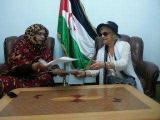 UNMS | Unión Nacional de Mujeres Saharauis.: El comunicado conjunto de mujeres suecas y la UNMS...