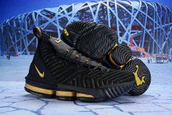 a4f5026f1c9 Nike LeBron 16 EP Black Gold AO2588 052 Men s Basketball Shoes James  Trainers