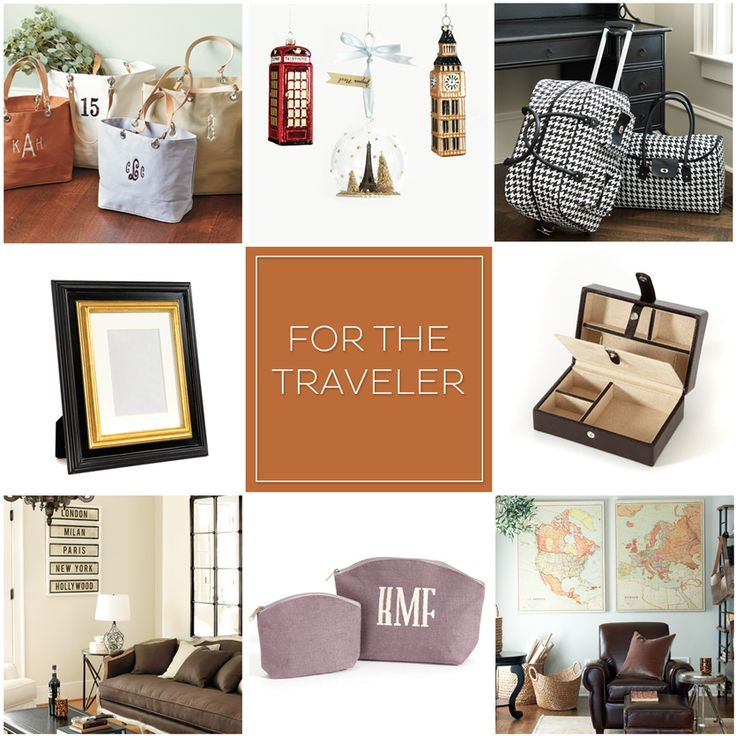 If she has a serious case of wanderlust, here are 8 of our favorite travel-inspired gifts!