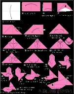 Great Origami Fish Instructions
