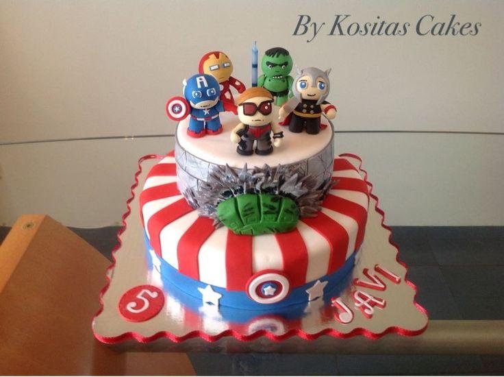 Baby Avengers — Childrens Birthday Cakes