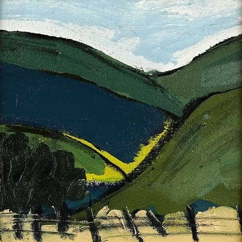 Landscape oil painting 13-093