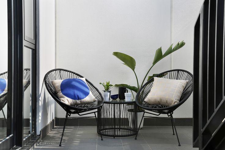 Outdoor Furniture.   #salvopropertygr #precinctapartments #furniture