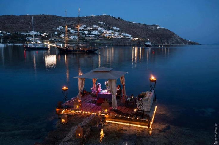 Romantic Escapes in Mykonos.