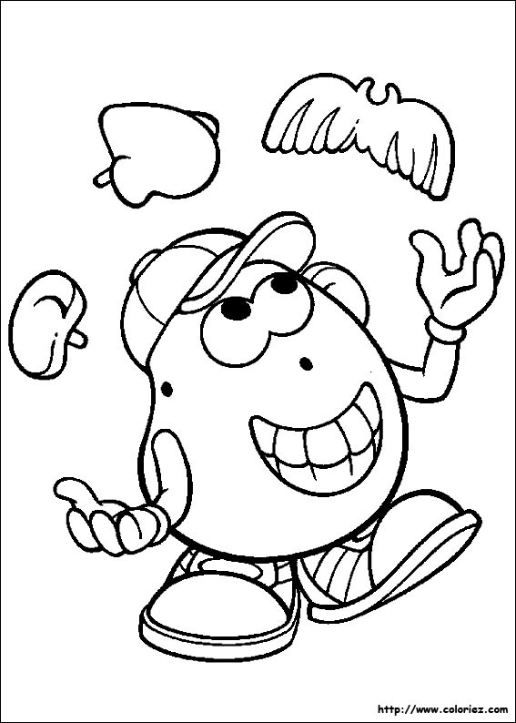 Index of images coloriage monsieur patate cole pinterest - Mr patate dessin ...