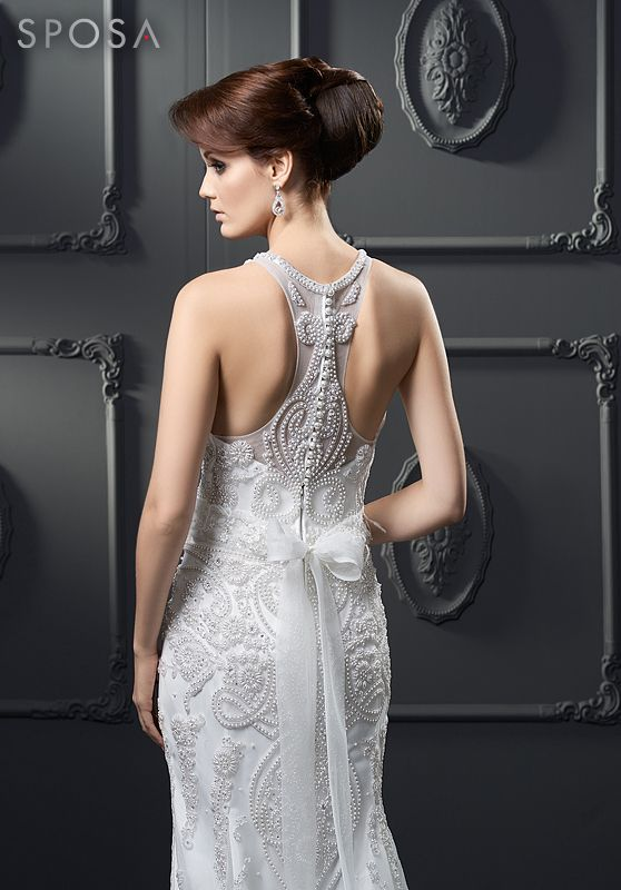 Glace mermaid dress from the 2014 collection by SPOSA