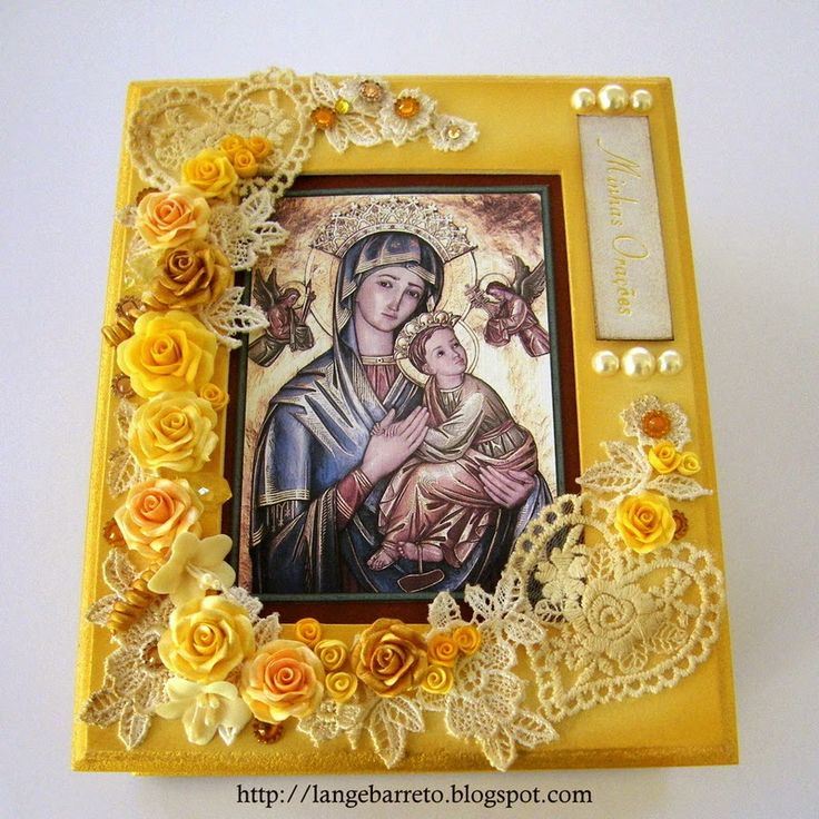 Lange Barreto - Scrap: Caixa para orações