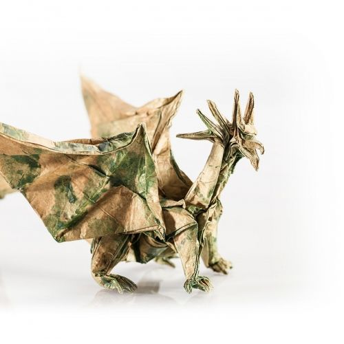 Origami Dragon by Plico Design.