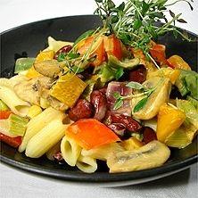 Paprikagryta med röda bönor - Recept - Tasteline.com