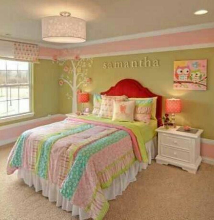 Really cute girl room homes for Really cute houses