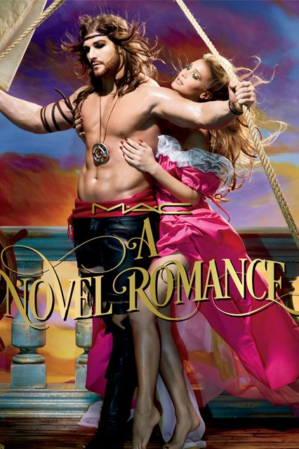 This Is How MAC Does A Romance Novel #refinery29  http://www.refinery29.com/mac-novel-romance-makeup-collection-fall-2014#slide27  Who knew pirates wore so much eyeliner?