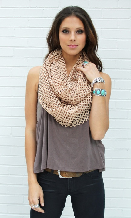 Cutout Infinity - Summer scarf