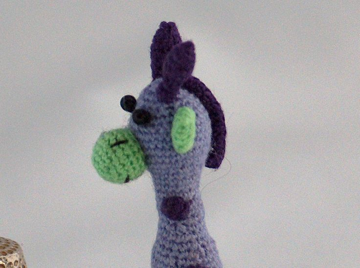 Cute  Giraffe door MiniMadeCraft op Etsy