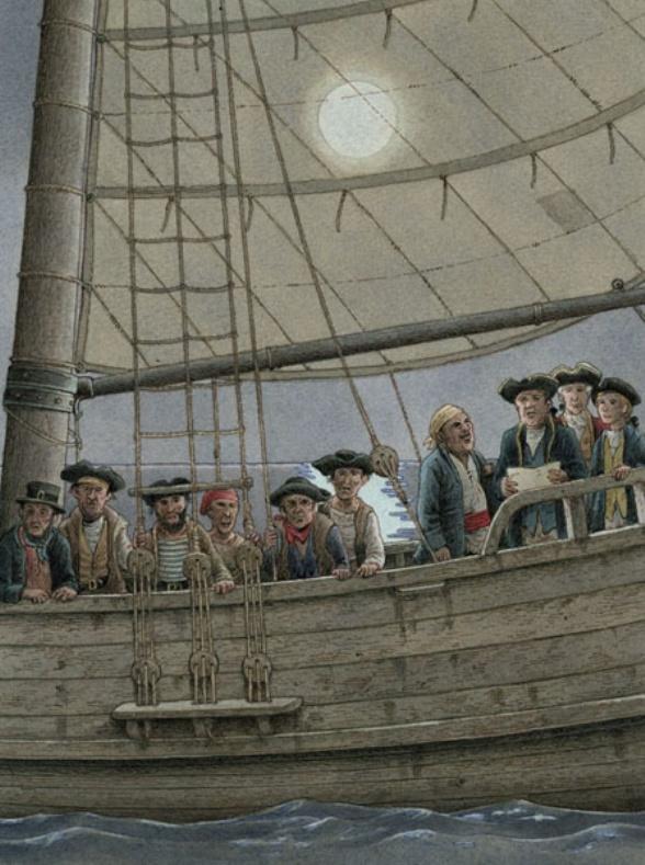 """""""L'isola del tesoro"""" illustrata da Roberto Innocenti-da 9 anni"""