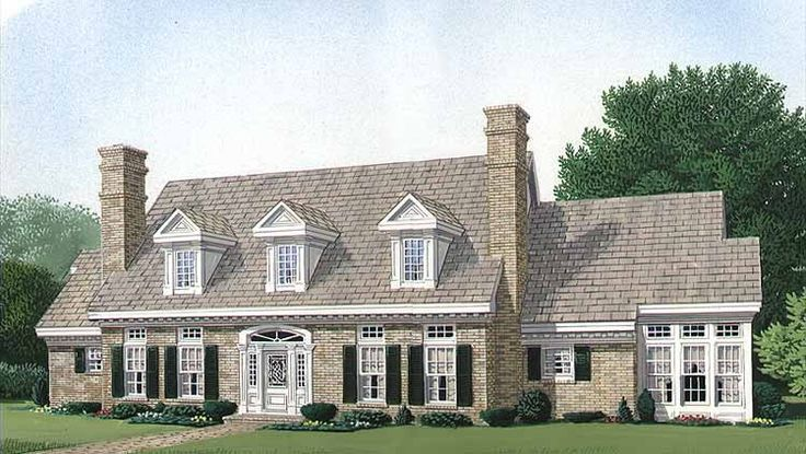 48 Best Cape Home Designs Images On Pinterest House Floor Plans Fascinating 4 Bedroom Cape Cod House Plans Exterior Decoration