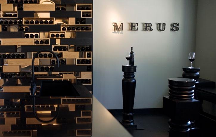 Mersus Winery Shelving Detail