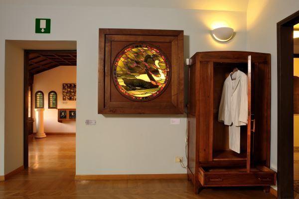 Abito e Colonna di Testo by Antonia Ciampi. Archivio dei sogni @ Musei di Villa Torlonia