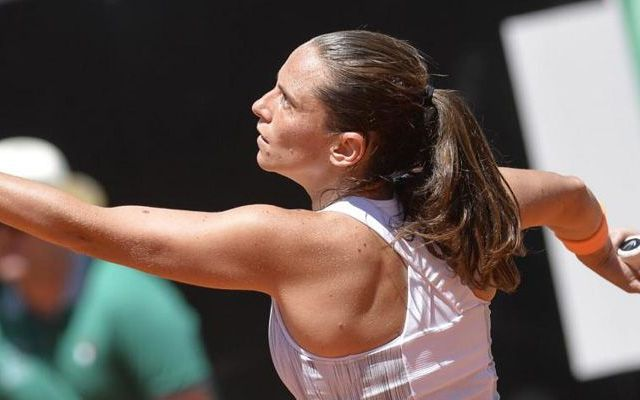 Esordio vincente per Roberta Vinci nel torneo WTA portoghese di Oeiras #roberta #vinci #wta #oeiras