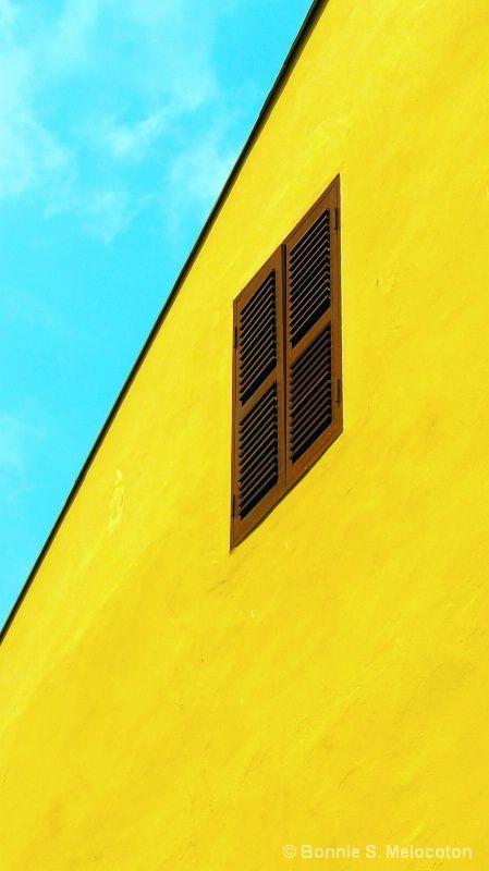 Blue Skies & A Back Window
