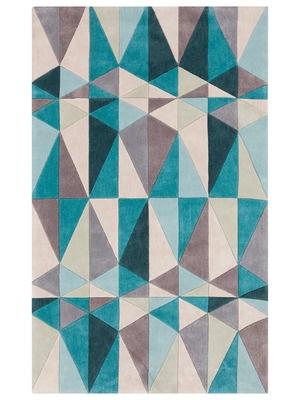 Blue, White & Grey Rugs - Gilt Home