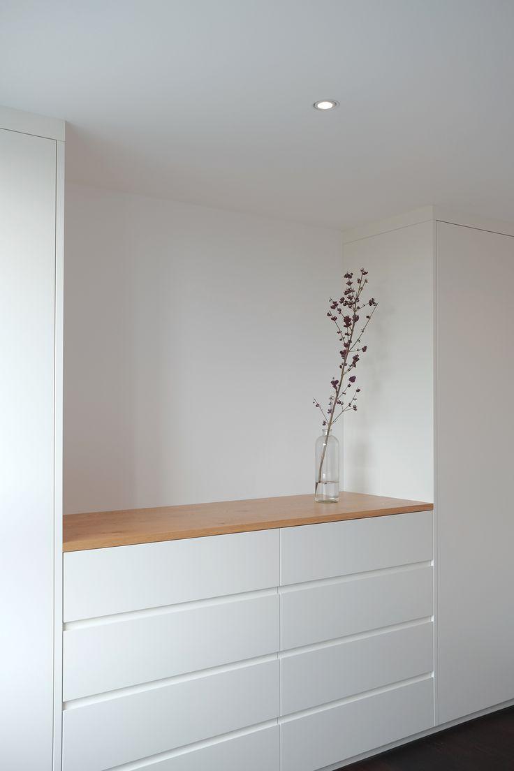 kasten weiss lackiert mit eiche schlafzimmer schlafzimmer