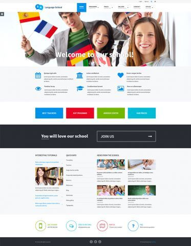 School Accessibility Ready #WordPress #Theme - Language school #wcag