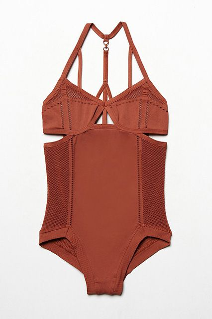 The BEST One-Piece Swimsuits, Courtesy Of 10 Fashion Icons #refinery29 http://www.refinery29.com/one-piece-swimsuits#slide18