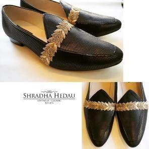 Fab Indian Groom Footwear ideas - Juttis - A Groom's Must have Accessory