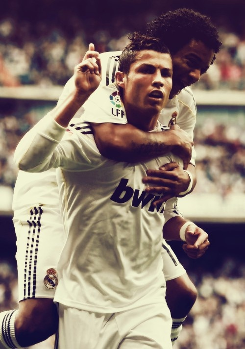 CR7 AND MARCELO