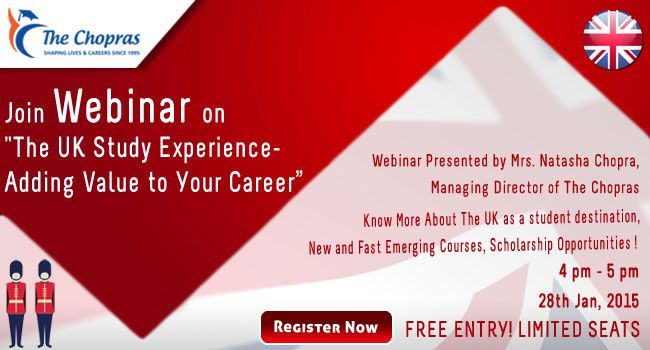 Free #Webinar on The UK Study Experience - Adding Value to Your Career!  Register to Attend: https://attendee.gotowebinar.com/register/5213299562697452802  Aspiring students can utilize this session to discuss about the admission procedure, university requirements and the latest visa updates from the UKVI (UK Visas and Immigration)  #studyinuk #ukeducation #UKVisaImmigration