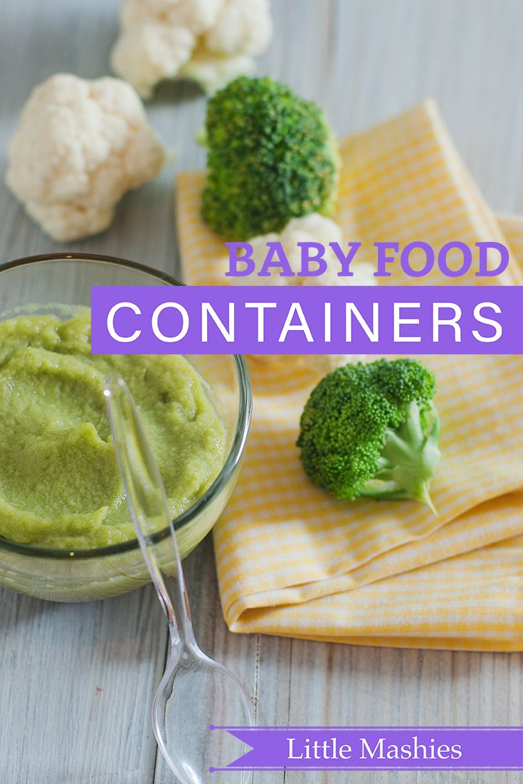 Little Mashies Cauliflower & Broccoli Puree - Beat Baby Food containers 2017 Little Mashies refillable squeeze pouches