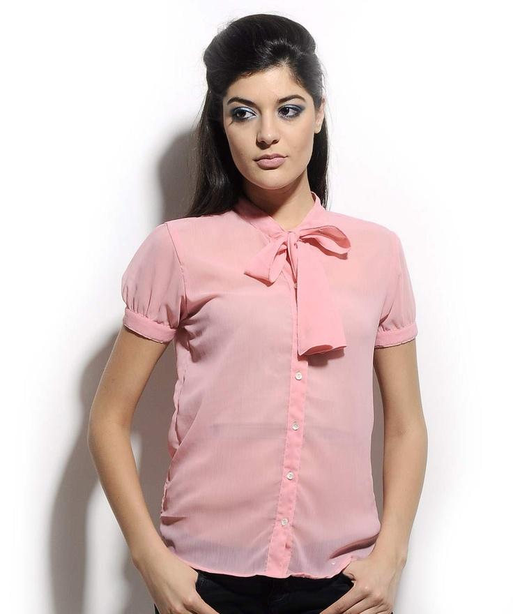 http://www.mydesignersales.com/designers-2/corsage/pink-shirt-by-corsage-940.html #Chiffon #Shirt