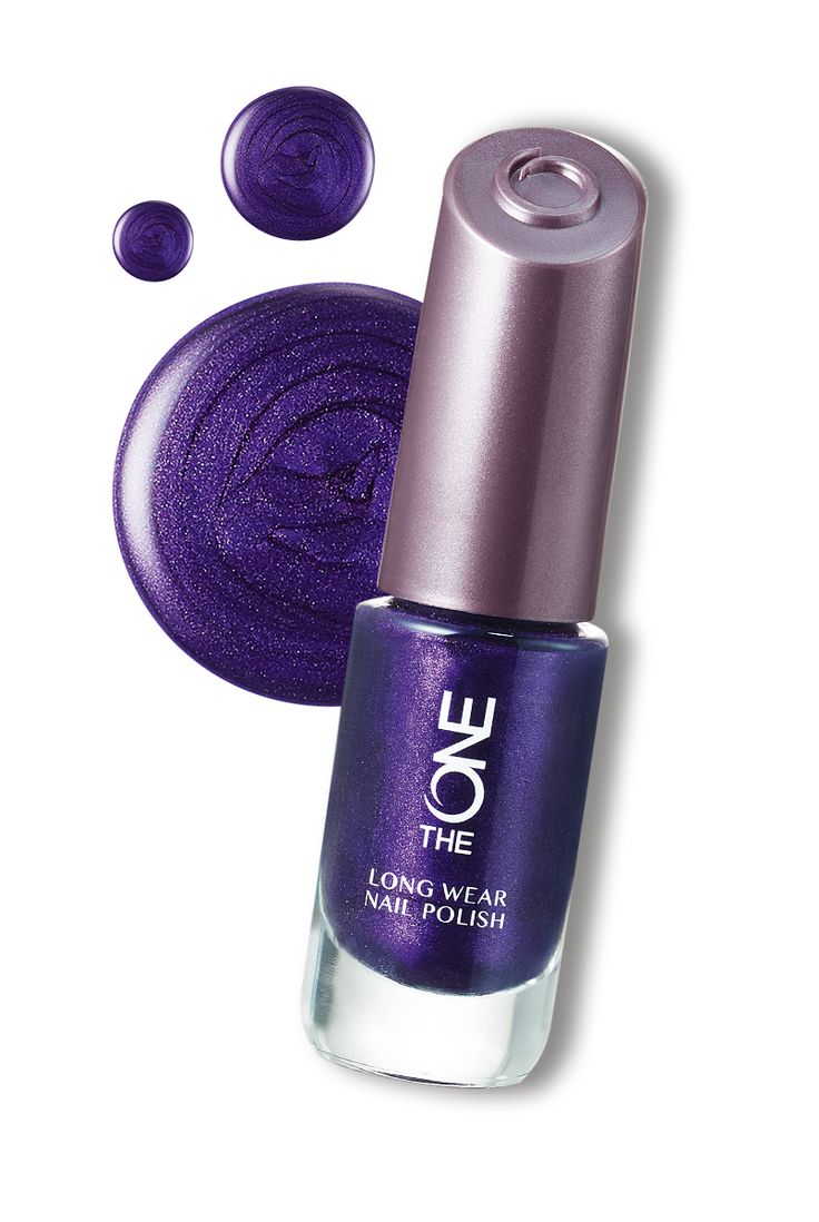 The ONE Long Wear Nail Polish-Water Iris #Nails #Oriflame