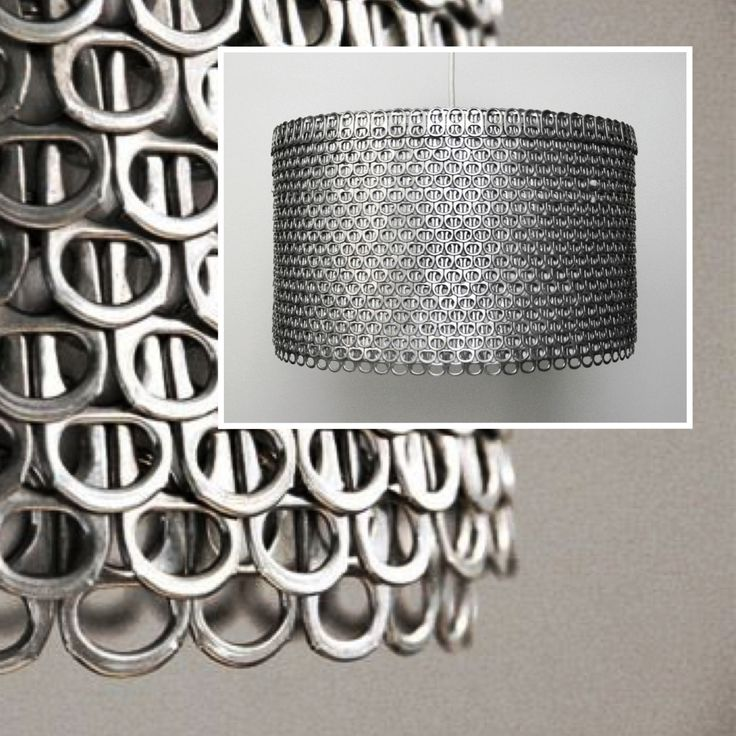 Use hashtag #saturdayrecycling for green ideas!! They could inspire someone #AllisonPatrick of Zipper8Lighting saved hundred of soda can tabs to create these shimmering eco-friendly #lampshades #NewYork #MadeinUSA Zipper8Design.etsy.com #sodacantabs #cantabs #ecofriendly #handmade #DIY #art #artist #design #designer #interiordesign #greenideas #Gabriella #Ruggieri selection