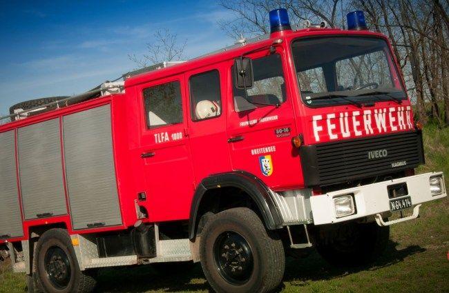 Feuerwehr Iveco TLF 1000 MAGIRUS IVECO 80-16 AW 4×4