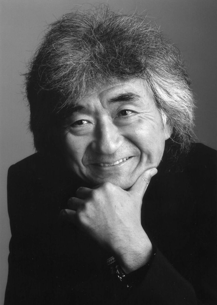 Seiji Ozawa (1935) - Japanese conductor, particularly noted for his interpretations of large-scale late Romantic works. He is most known for his work as music director of the Boston Symphony Orchestra and principal conductor of the Vienna State Opera.