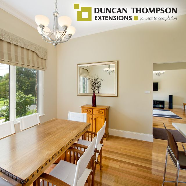 The Dining Room Is A Great Place To Spend Quality Time With Your Family And Friends Single Storey ExtensionThe