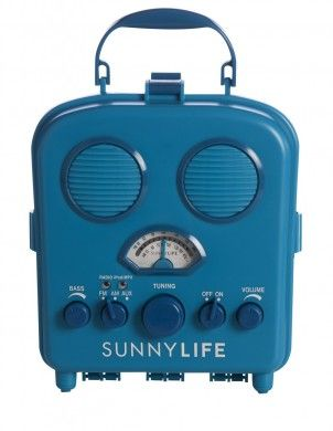 SunnyLIFE BEach and Camping Radio at Pigment #shoppigment #radio